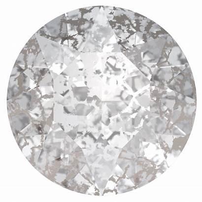 Swarovski Crystal Silver Patina Round 1088 Crystals