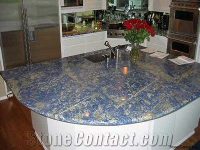 blue sodalite granite countertop  united states stonecontactcom