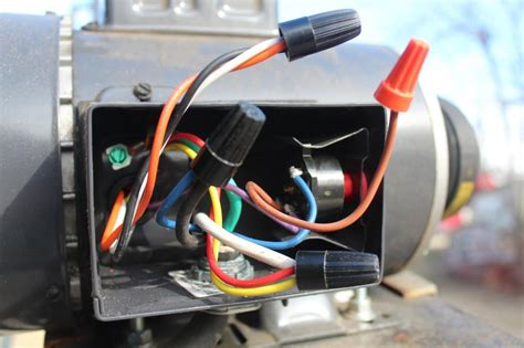 Wiring Farm Duty Single Phase Motor With Thermal