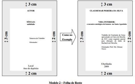 normas da abnt para trabalhos escolares modelos para química normas abnt para trabalhos escolares