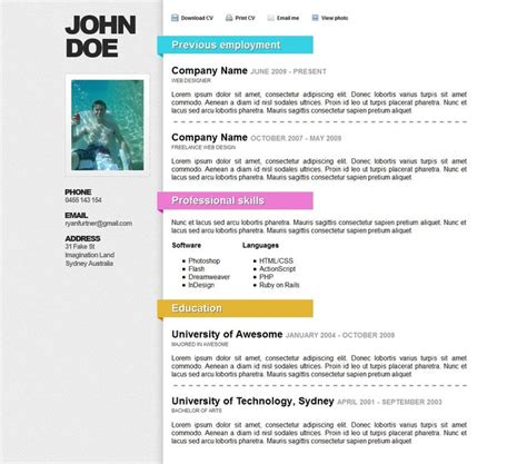 168 best creative cv inspiration images on