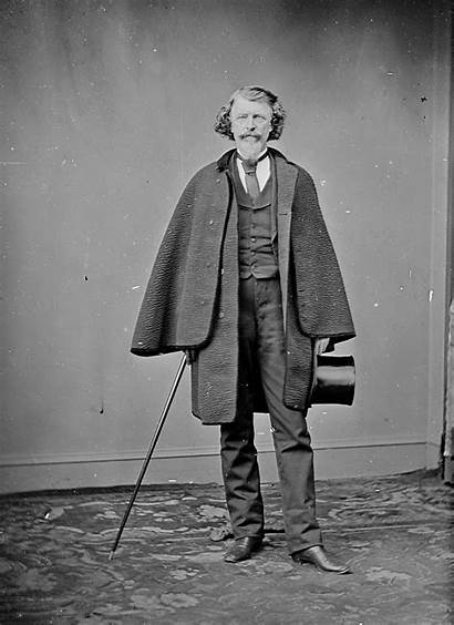 1860 Stereoscopic Portrait Photographic Animated Gentleman Chubachus
