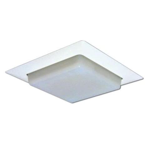 halo 8 in white recessed lighting square trim with drop
