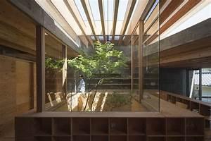 Una, Casa, Minimalista, Japonesa, Que, Interact, U00faa, Con, Su, Entorno