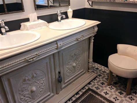 meuble salle de bain vintage salle de bain retro meuble