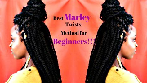 Easy Marley Twists Tutorial |protective Style For Natural