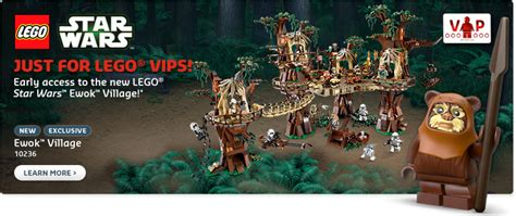 10236 Ewok Village Now Available For Vips  Bricking Around