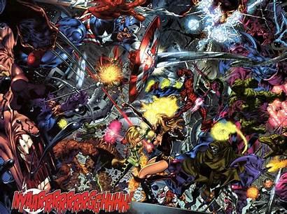 Secret Wars Marvel Avengers Comics Superhero Crossover