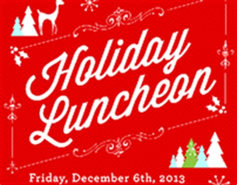 employee holiday luncheon invitation template hyojin on behance
