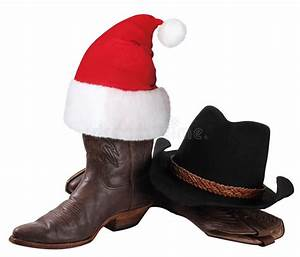 American Cowboy Hat And Western Shoes For Christmas ...