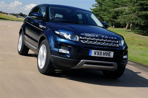 range rover dark blue range rover evoque first drives auto express