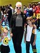 Christina Aguilera's Kids Wear Their Emojis to 'Emoji ...