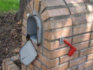 mailbox door repair the birmingham handyman brick mailbox door repair