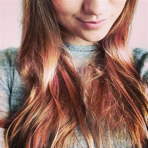 light pink highlights instagram insta glam hairstyles with pink highlights