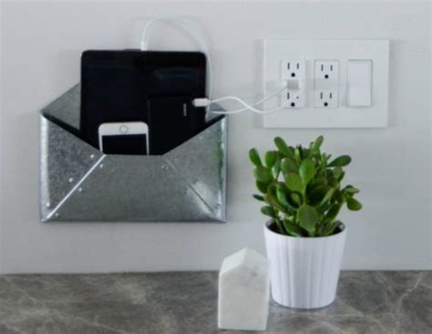 wall mounted diy charging station diyideacentercom