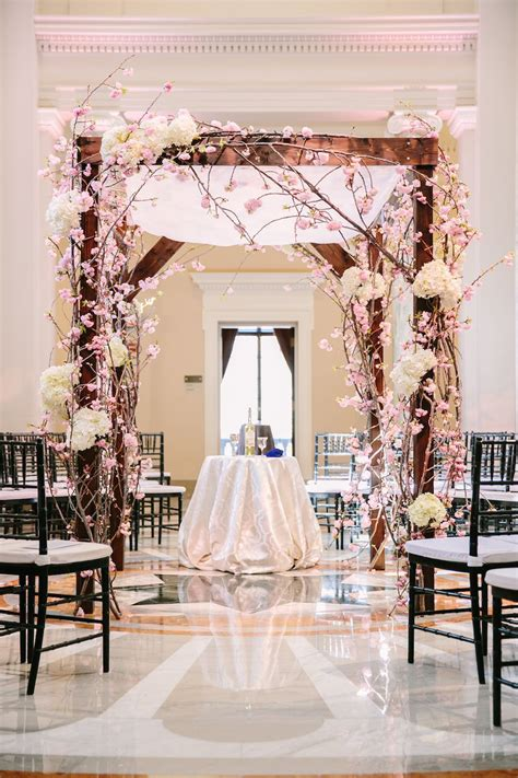 18 Ideas to Steal for Your Cherry Blossom Themed Wedding