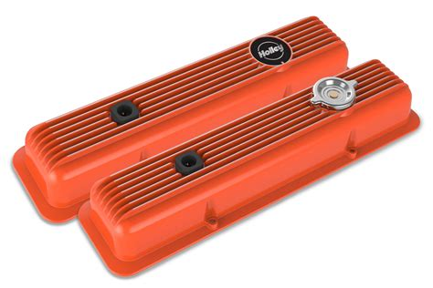 Holley Muscle Series Valve Covers For Small Block