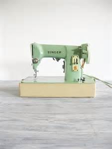 Green Singer Sewing Machine