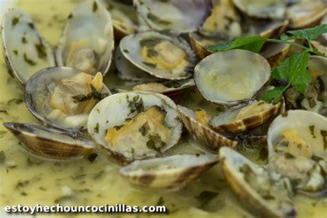 comment cuisiner des palourdes recette de palourdes sauce verte à l 39 ail et persil