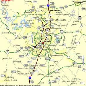 Austin Area Zip Code Map
