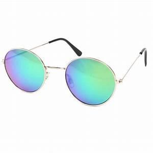Lunette Soleil Ronde Homme : vente lunette de soleil ronde bleue et metal john site ~ Nature-et-papiers.com Idées de Décoration