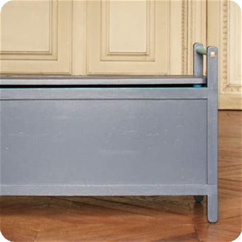 banc coffre cuisine meubles vintage gt rangements gt banc coffre vintage bleu