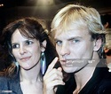 Singer, actor and musician Sting with his wife Frances ...