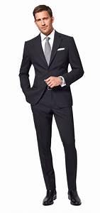 Blauer Anzug Schwarze Krawatte : dolzer man schwarzer anzug nach ma imbracaminte barbati clothing men man male pinterest ~ Frokenaadalensverden.com Haus und Dekorationen