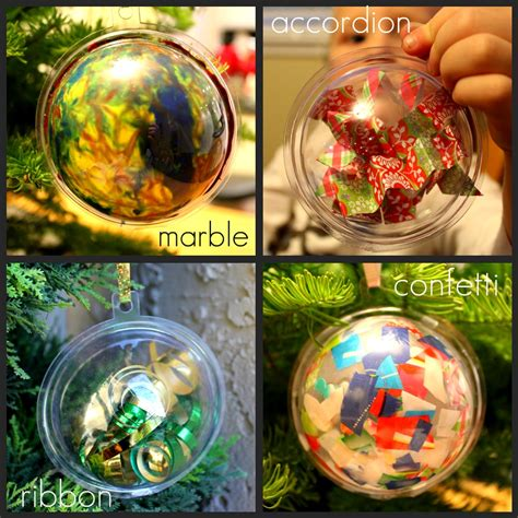 toddler approved  ways  decorate  plastic ornament