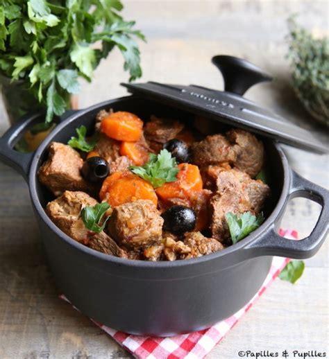 cuisiner le sanglier en daube daube de sanglier aux olives