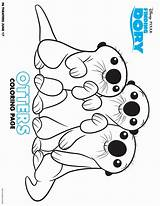 Dory Coloring Finding Pages Printable Nemo Otter Sheets Template Books Story Inspired Marvelous Trailer Davemelillo Collegesportsmatchups Coloring2print sketch template