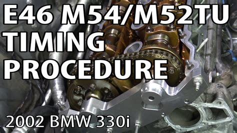 bmw  install timing components reset timing