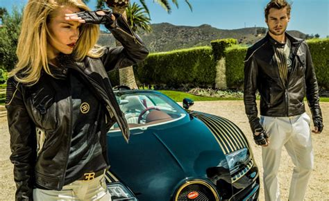 Bugatti Debuts Clothing Line That's As Excessive As Its