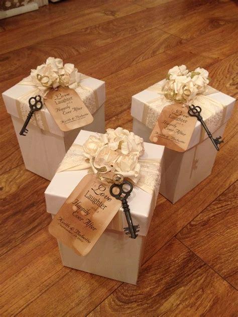 piece ivory favor box wedding favours wedding