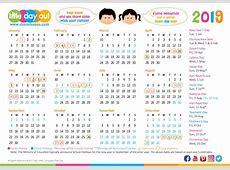 School Holidays Calendar 2019 Singapore Template Free