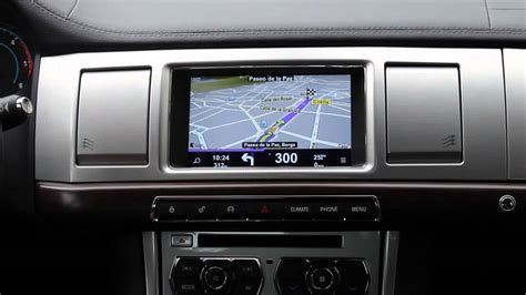NaviTouch® for Jaguar XF English - YouTube