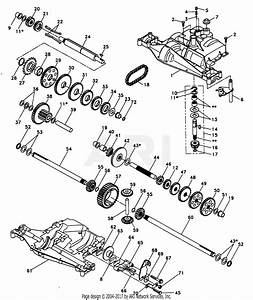 Poulan Pp1844k Tractor Parts Diagram For Dana Transaxle