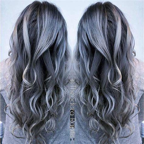 Charcoal Hair Dye by 78 B 228 Sta Bilderna Om Silver Gray Charcoal Hair