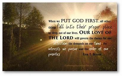 Put God Place Lord Fear Loving Humility