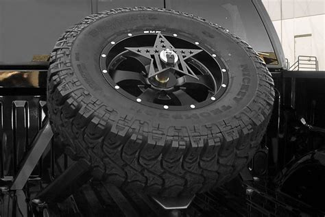 35865 truck bed spare tire mount truck bed mounted spare tire carriers carid