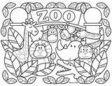 Coloring Pages Zoo Printable Animals Animal Colouring Preschool Sheets Fantasy Template Worksheet Farm Alphabet Stephen Joseph Characters Gifts Toddlers Stephenjosephgifts sketch template