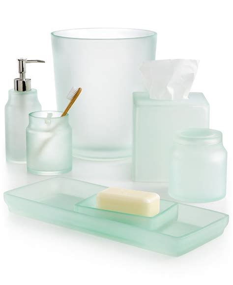 Glass Bath Accessories by Sea Glass Bath Accessories Everything Turquoise