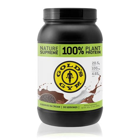 Amazon.com : Golds Gym Vegan Protein Powder, 100% Plant