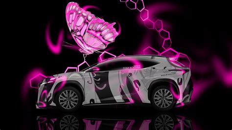 lexus lf nx fantasy butterfly car  el tony