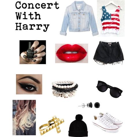 U0026quot;Concert With Harry.u0026quot; by one-direction-date-outfits on Polyvore | Hanging with Harry | Pinterest ...