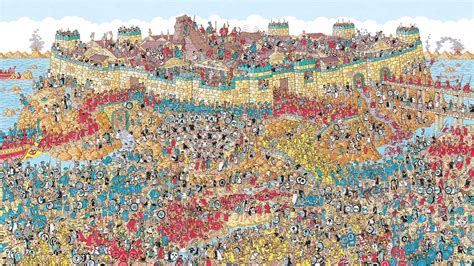 The Best Way To Look Through A Where's Waldo? Book