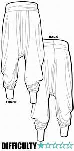 ralf pink patterns harem pants khaki merino jersey With harem pants template