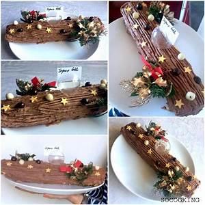 Decoration Pour Buche De Noel : b che de no l cr me de marron et gla age chocolat ~ Farleysfitness.com Idées de Décoration