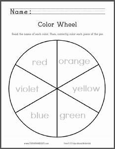 Color Wheel For Primary Grades