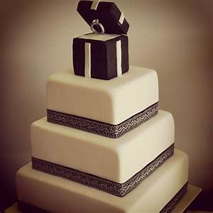 24 best images about cakes for engagements on pinterest With wedding ring cake